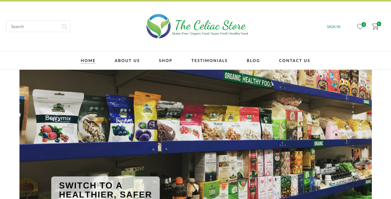 The Celiac Store